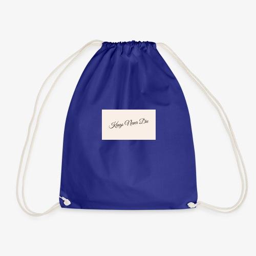 Kings Never Die - Drawstring Bag