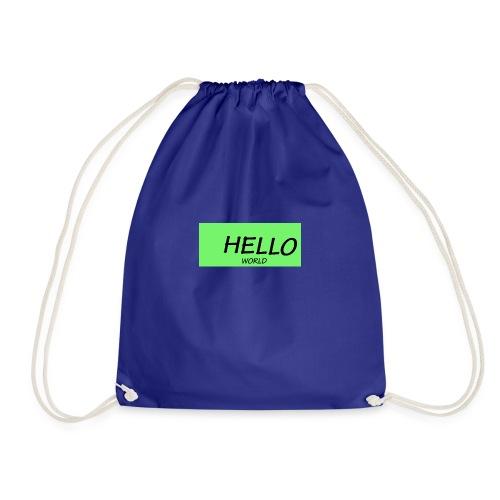 HELLO - Drawstring Bag