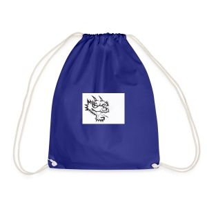 dragon head - Drawstring Bag