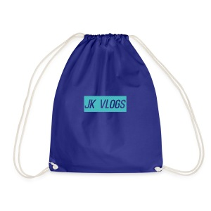 JK Vlogs Logo 2 - Drawstring Bag