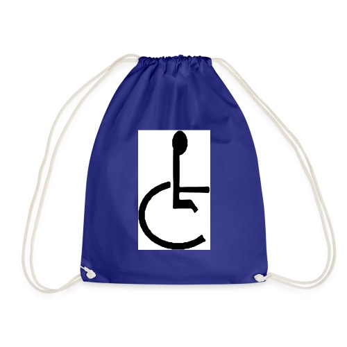 Don't have to get Drunk to Get Legless - Drawstring Bag