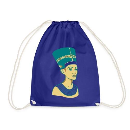 Nefertiti - Nofretete - Die Schöne - Turnbeutel