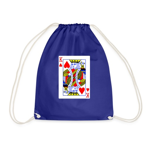 King of Sharts - Drawstring Bag