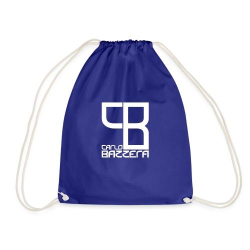 CarloBazzera white - Drawstring Bag