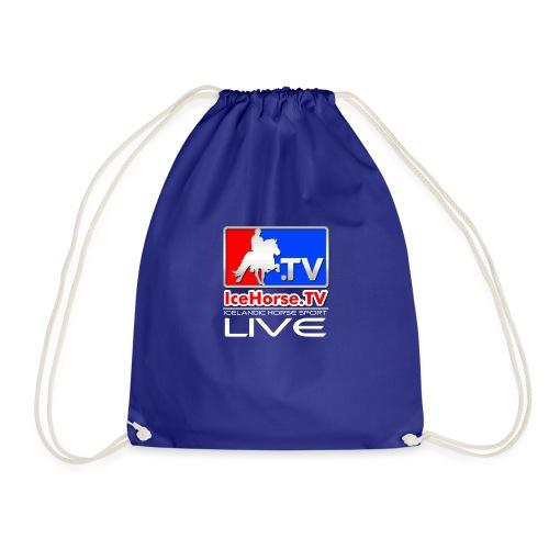IceHorse logo - Drawstring Bag