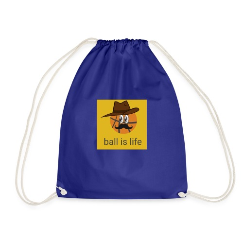 ball is life - Drawstring Bag