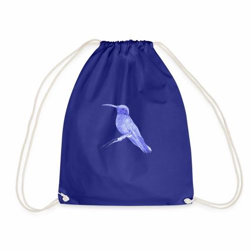 Hummingbird with ballpoint pen - Drawstring Bag
