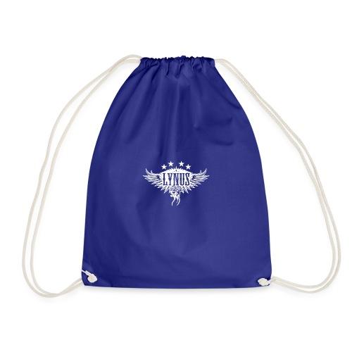 Small Lynus logo White - Drawstring Bag