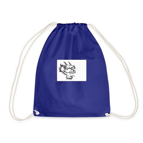dragon head - Drawstring Bag
