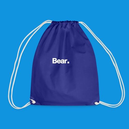 Bear. Retro Bag - Drawstring Bag