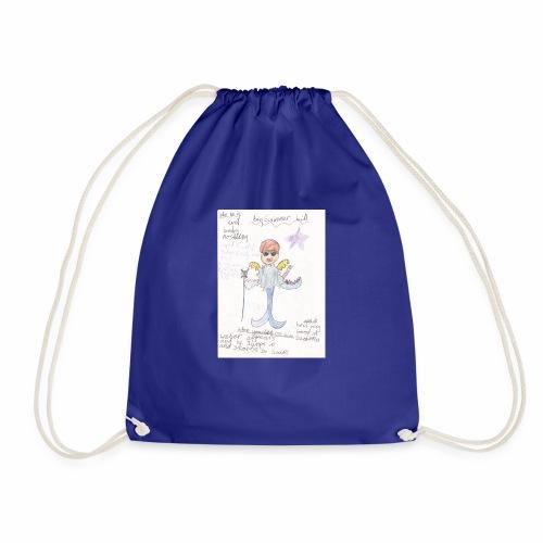 Big Swimmer Bill DHIRT - Drawstring Bag