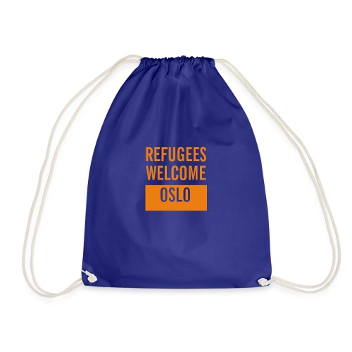Refugees Welcome Oslo - Gymbag