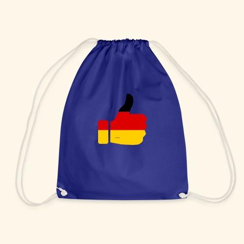 Deutschland Daumen nach oben! - Turnbeutel