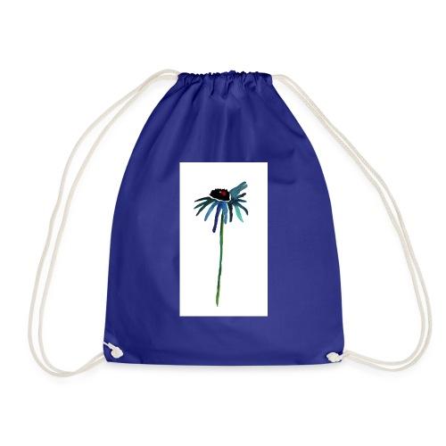 fiore blu - Sacca sportiva