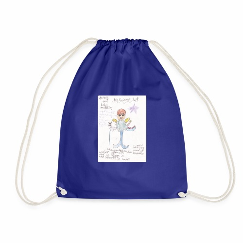 Big Swimmer Bill DHIRT - Drawstring Bag