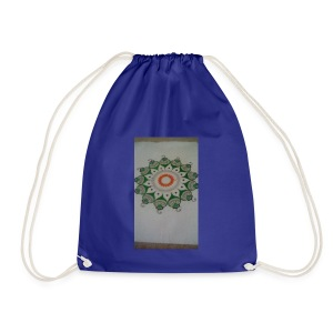 Freehand pattern by josef - Drawstring Bag