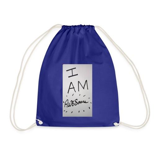 I am Awesome - Drawstring Bag