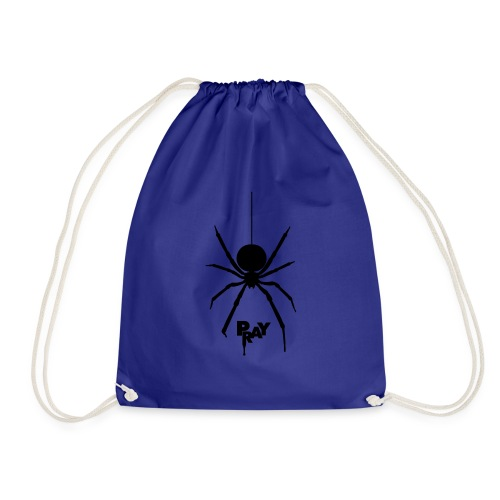 pray_black - Drawstring Bag