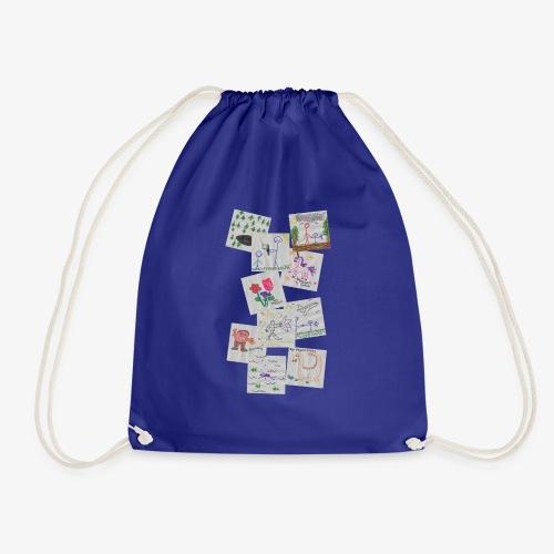 Drawings - Drawstring Bag