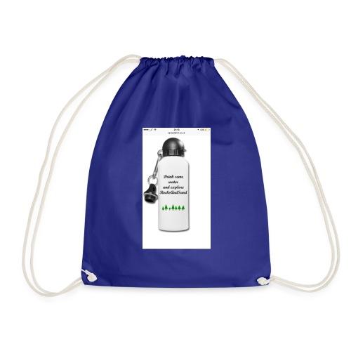 RocksAndSand adventure bottle - Drawstring Bag