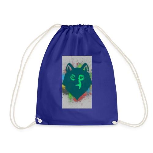 WOLF FACE - Turnbeutel