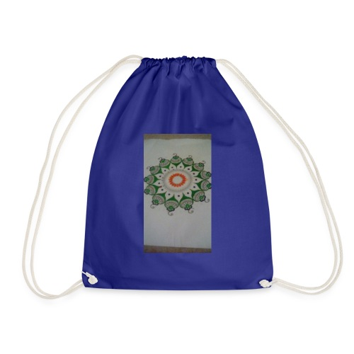 Freehand pattern by josef - Drawstring Bag