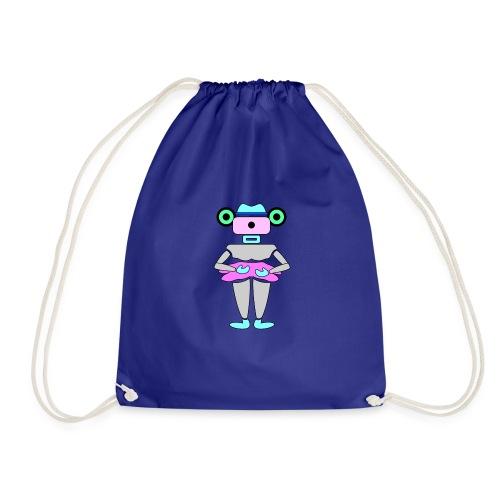 robottino futuristico - Drawstring Bag