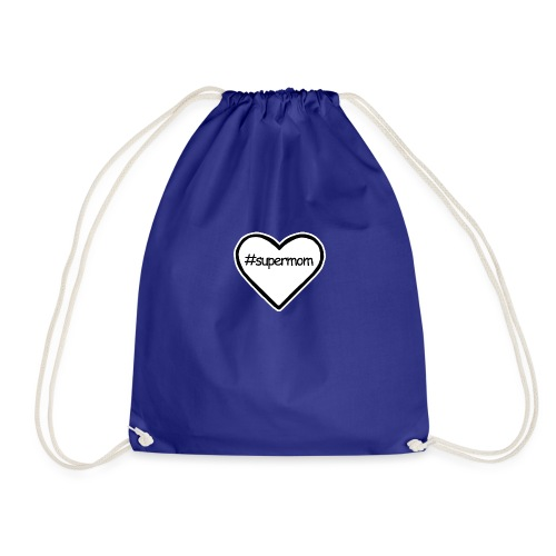 #supermom - Drawstring Bag