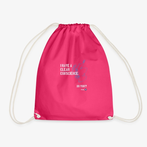 Clear Conscience - Drawstring Bag