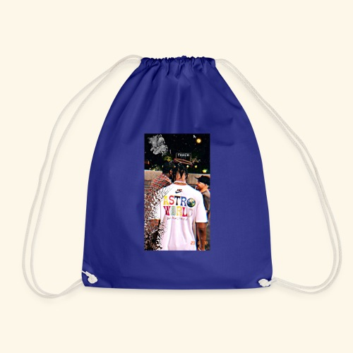 Travis Scott Astroworld Custom - Drawstring Bag