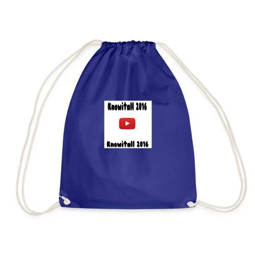 Knowitall 2016 Custom design - Drawstring Bag