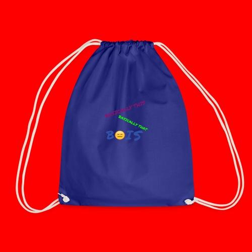 BASICALLY THIS BASICALLY THAT ZEPPLIN Design - Drawstring Bag