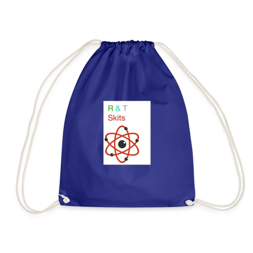 R & T skits YT channel design - Drawstring Bag