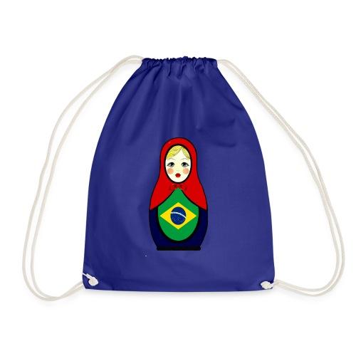 Brasilien Matrjoschka Brazil Matroschka - Turnbeutel