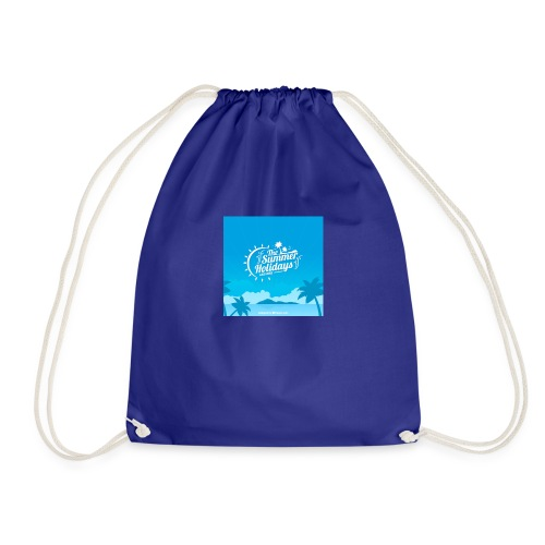 the summer holidays - Drawstring Bag