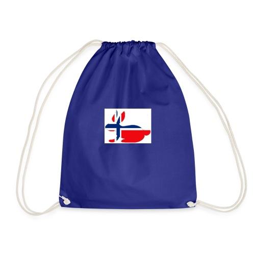 bunny_NY_LOGO_LI - Drawstring Bag