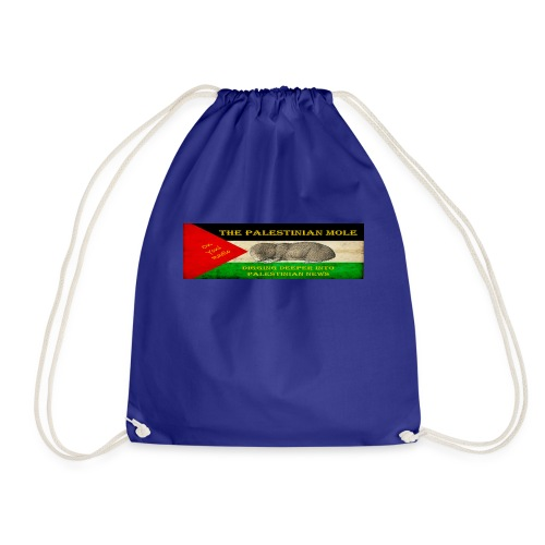 The Palestinian Mole - Drawstring Bag
