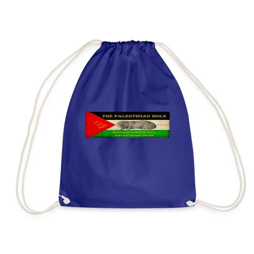 The Palestinian Mole - Drawstring Bag