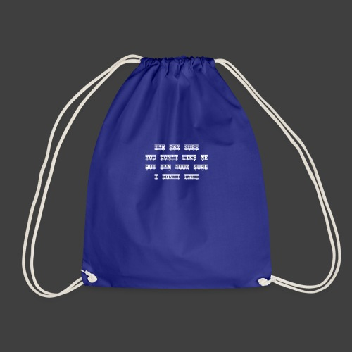 96% - Drawstring Bag