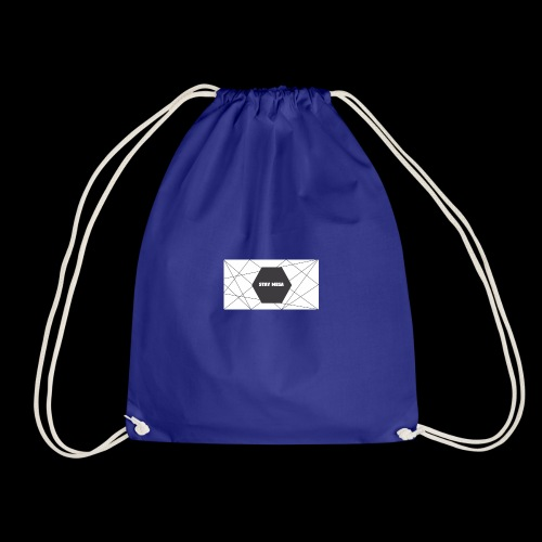 STAY MEGA LINES - Drawstring Bag