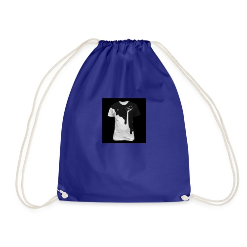 Throw paint from the stars - Drawstring Bag