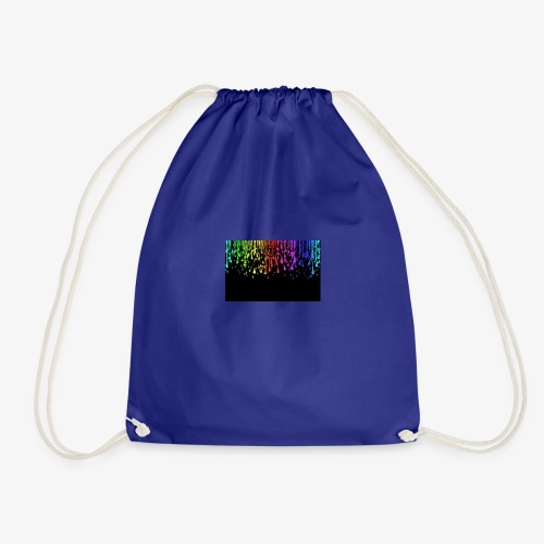Water drops cool effect - Drawstring Bag