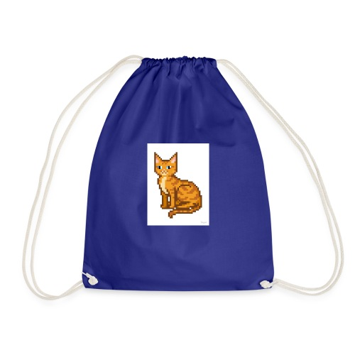logo pixel gamer123 - Drawstring Bag