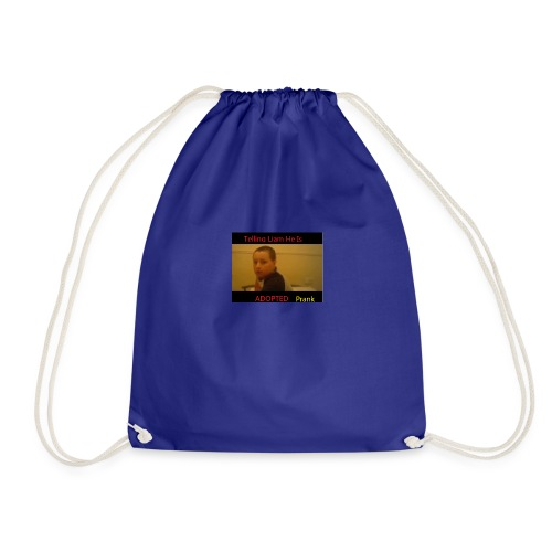 Telling Liam He Is Adopted - Drawstring Bag