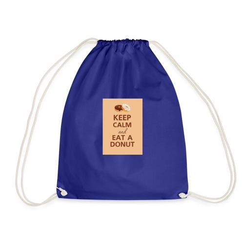 KEEPCALMDONUT - Drawstring Bag