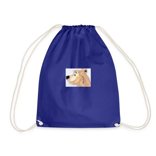 bear1 - Drawstring Bag