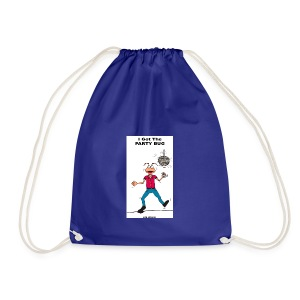 BACK PARTY BUG COL - Drawstring Bag