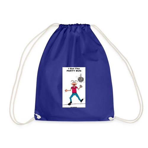 BACK PARTY BUG COL - Drawstring Bag