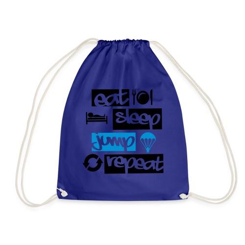 Eat Sleep Jump Repeat - Turnbeutel