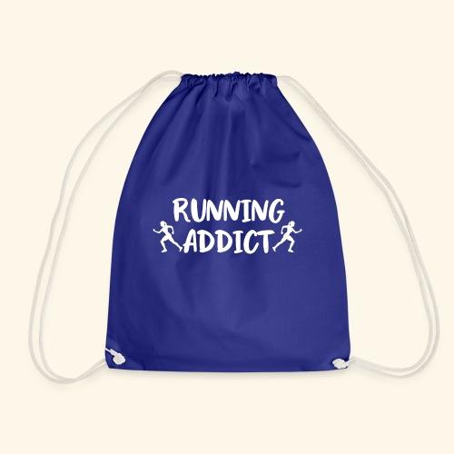 Running Addict Women Frauen Süchtig nach Laufen - Turnbeutel